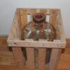 (Eesti) Tarbeklaasi veinipudel kastis